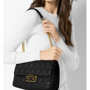 Michael Kors Sloan Quilted-Leather Bag